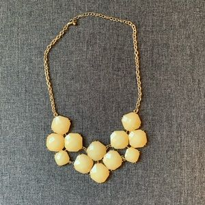 Antique White Chunky Necklace